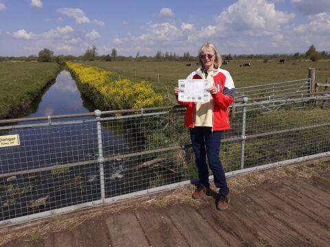 Carole at South Drain
