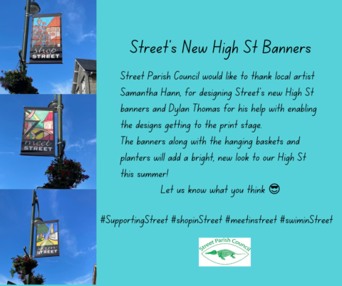 New High St Banners