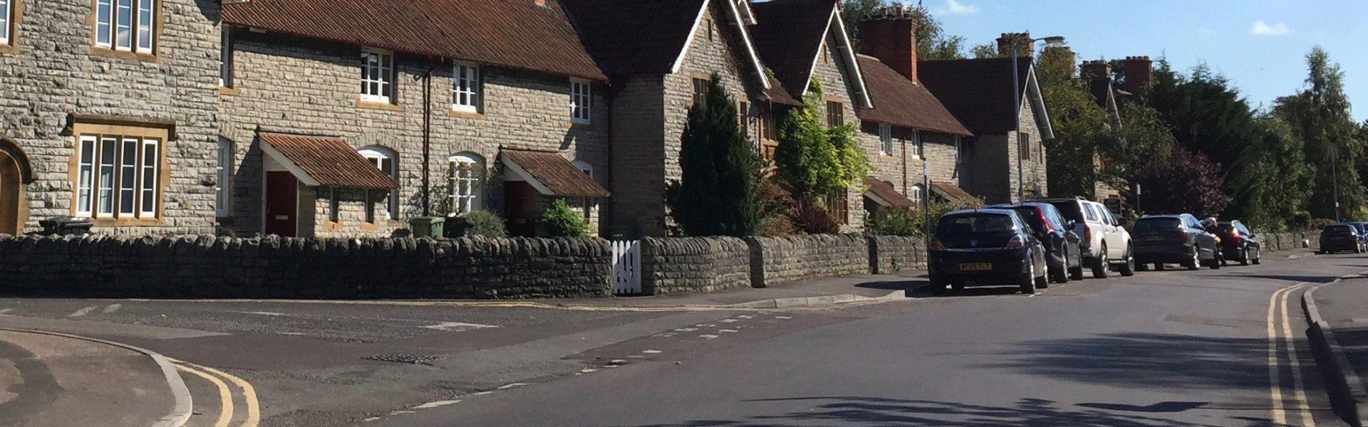Wilfred Road in Street