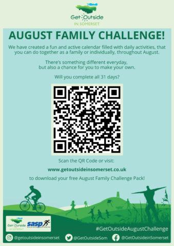 Get Outside August Family Challenge Flyer jpg.
