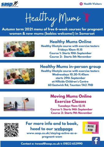 HM autumn term 2021 course menu pic