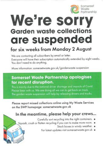 Garden Waste Suspended